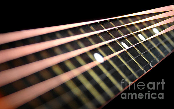String Abstract Large Print by Dan Holm