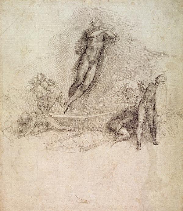 Michelangelo Battle Scene