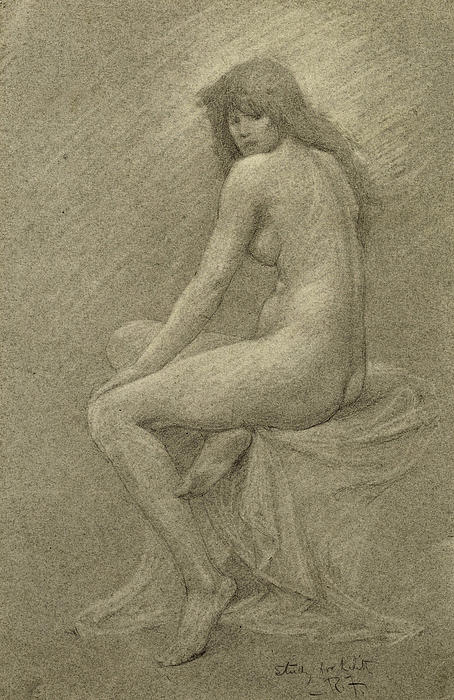 Study For Lilith Print by Robert Fowler