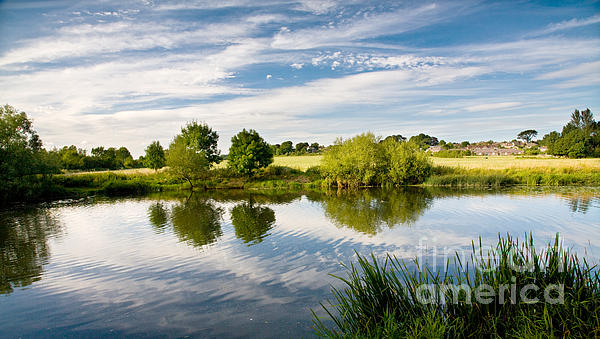Sturminster Newton - River Stour - Dorset - England Print by Natalie Kinnear