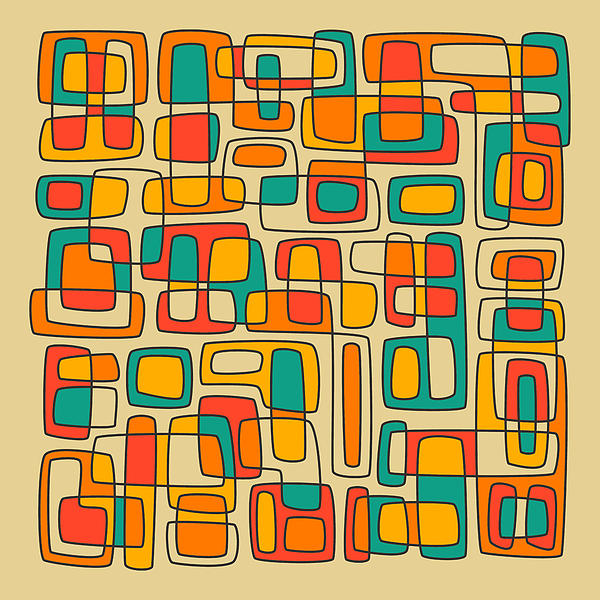 Subdivisions Print by Jazzberry Blue