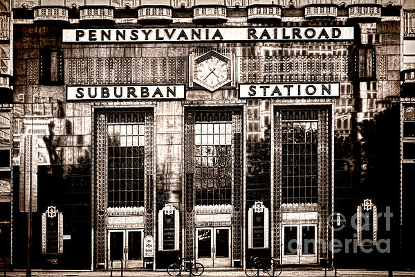 Suburban Station Print by Olivier Le Queinec