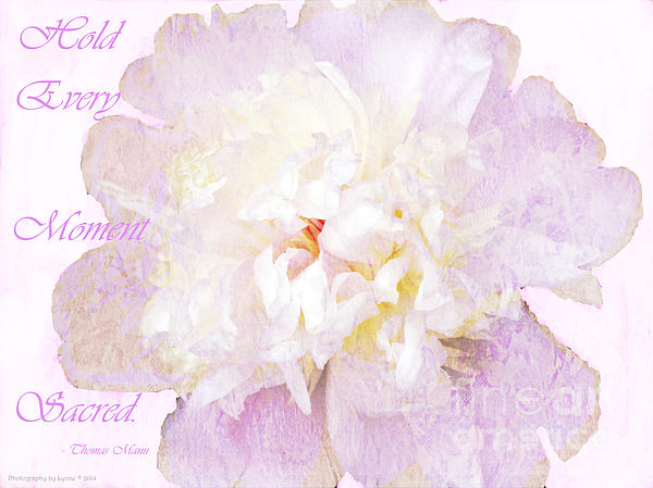 Gena Weiser - Such a Pretty Peony - Inspirational Quote