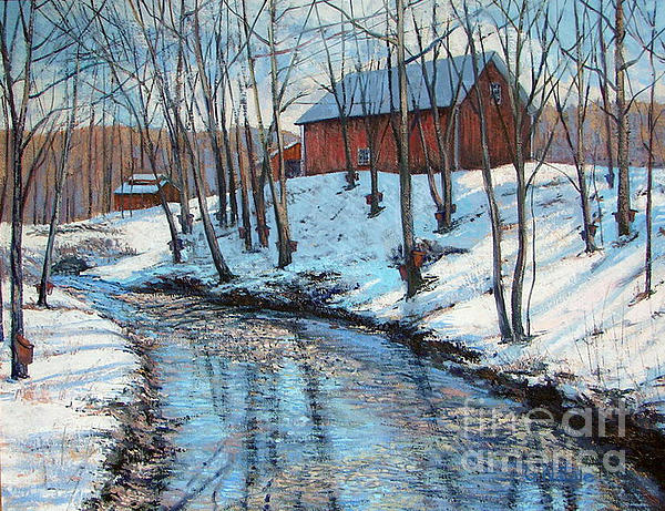 Sugar Brook Print by Gerard Natale