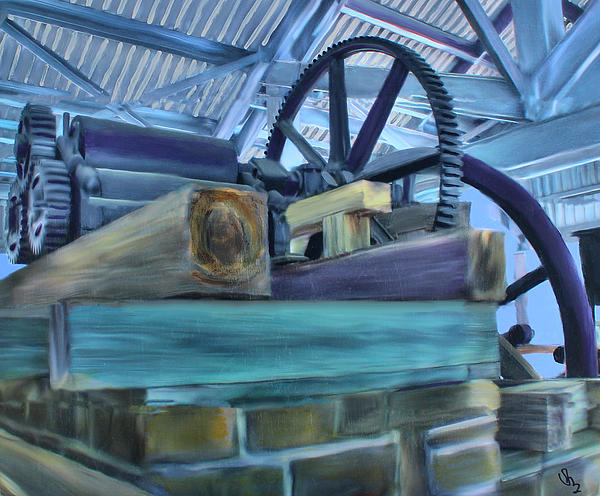 Sugar Mill Gizmo Print by Deborah Boyd
