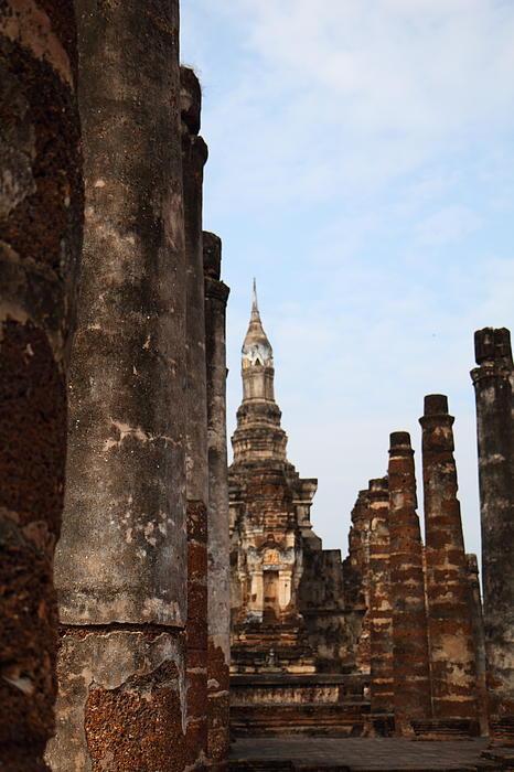 Sukhothai Historical Park - Sukhothai Thailand - 011320 Print by DC Photographer