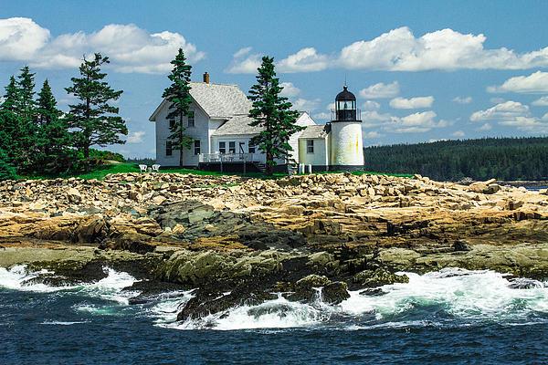 Steven Bateson - Summer At Winter Harbor Lighthouse