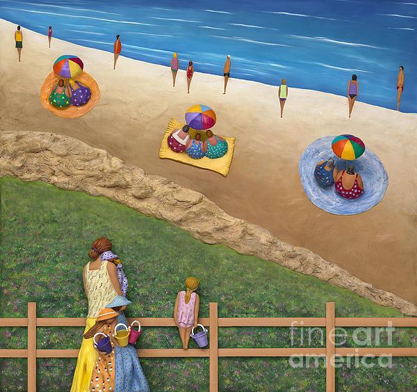 Summer Colours Print by Anne Klar