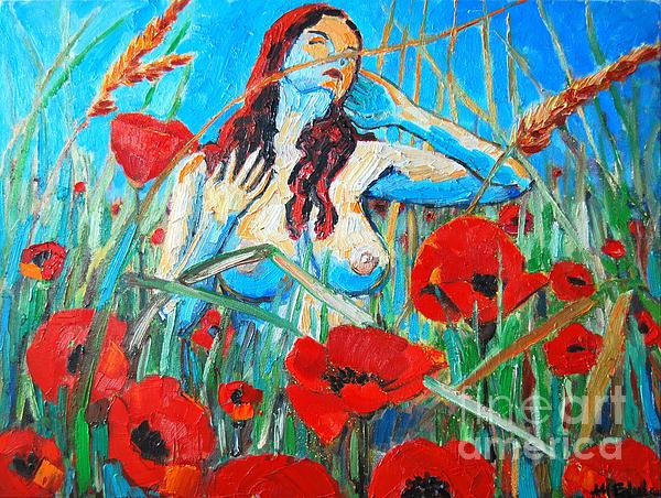 Summer Dream 1 Print by Ana Maria Edulescu