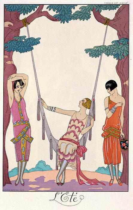 Summer Print by Georges Barbier