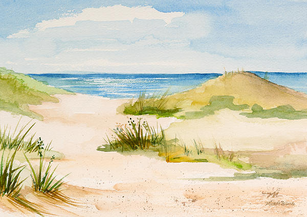 Summer On Cape Cod Print by Michelle Wiarda