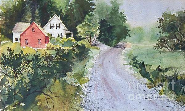 Summer Road Print by Joy Nichols