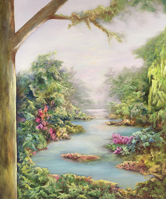 Summer Vista Print by Hannibal Mane