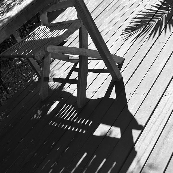 Summertime Shadows Print by Cheryl Miller