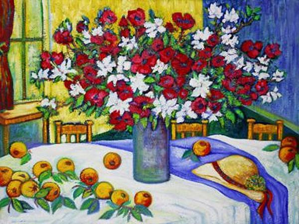Summertime Table Print by Gunter  Hortz