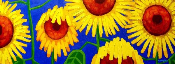 Sun Lovers Print by John  Nolan