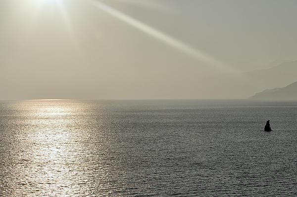 Vicky Tsikina - Sun Rays Above The Sea