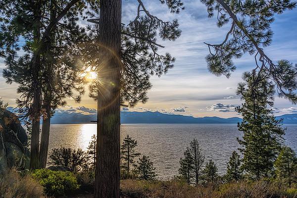 Maria Coulson - Sun Rays at Lake Tahoe