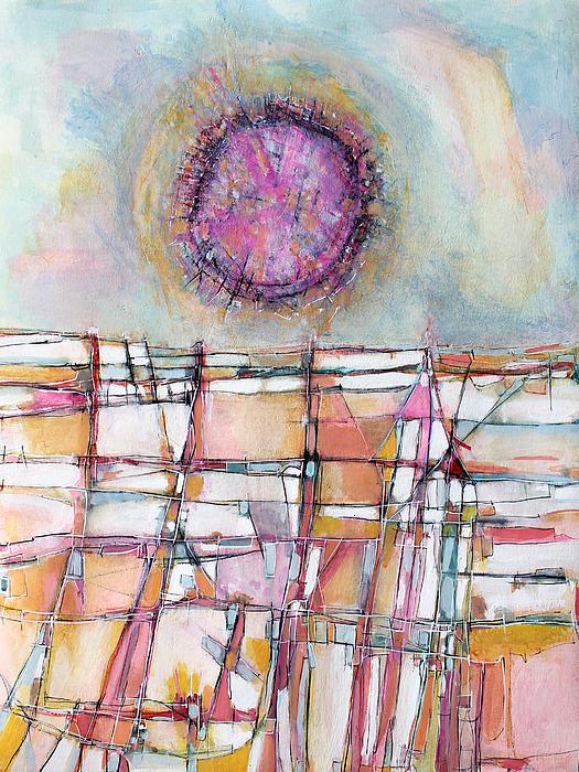 Sun And City Print by Hari Thomas