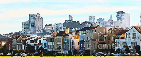 Sunday At Marina Green Park Fort Mason San Francisco Ca Print by Artist and Photographer Laura Wrede