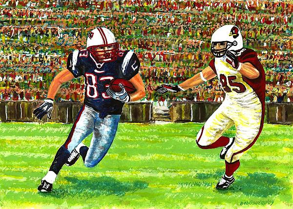 Sunday Football Print by Mario  Perez