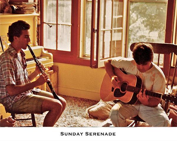 Sunday Serenade Print by Lorenzo Laiken