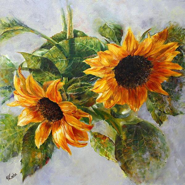 Yelena Koehn - Sunflowers