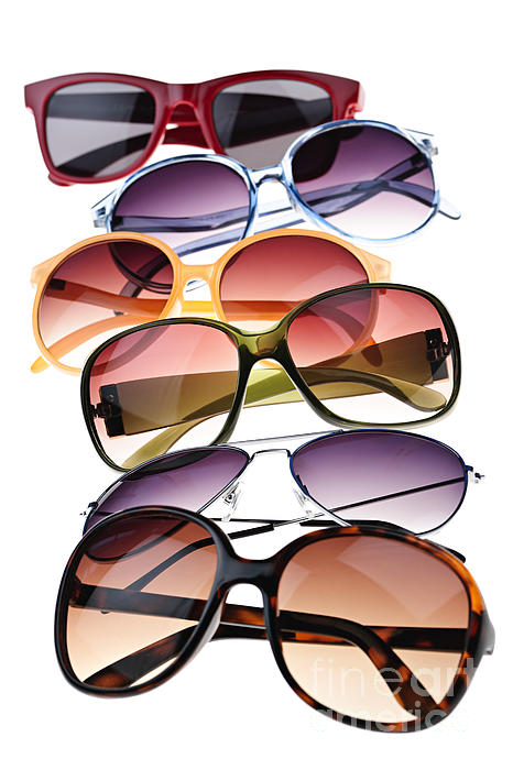 Sunglasses Print by Elena Elisseeva