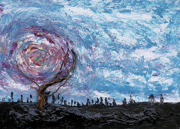 Sunloving Tree Print by Erik Tanghe