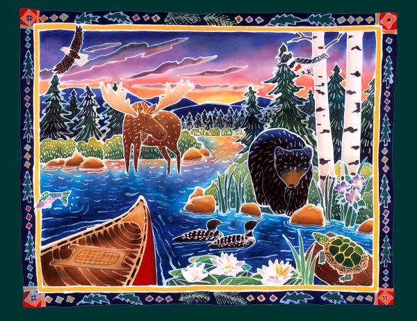 Sunrise At Bear Lake Print by Harriet Peck Taylor