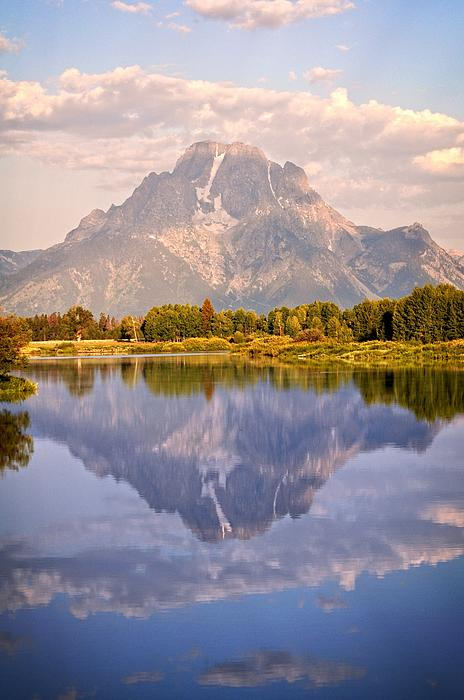 Sunrise At Oxbow Bend 2 Print by Marty Koch