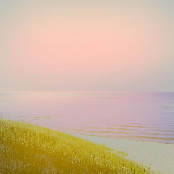 Sunrise Dune Print by Michelle Calkins