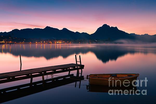 Henk Meijer Photography - Sunrise Hopfensee - Allgau - Bavaria - Germany