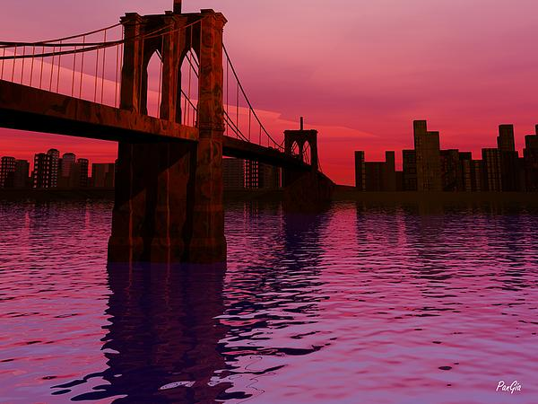 John Pangia - Sunrise in Brooklyn