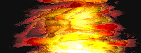 Sunrise On The Steps Of Heaven Print by Bruce Iorio