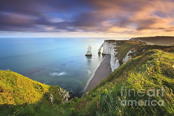 Fabio Nodari - Sunrise over Etretat