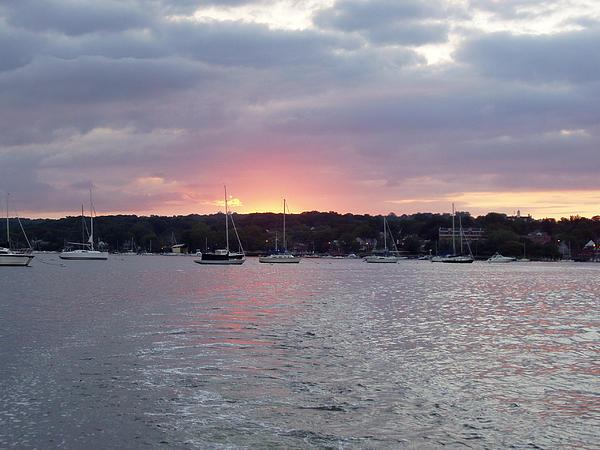 John Telfer - Sunrise Over Manhassett Bay