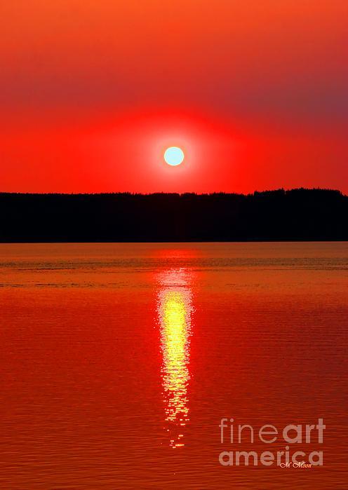 Marcia Fontes Photography - Sunrise Over Whidbey Island