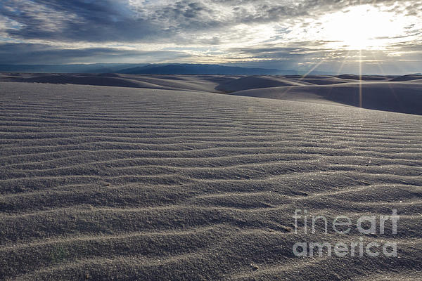 Sunset 3 - White Sands Print by Scotts Scapes