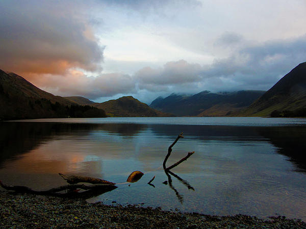 Chris Whittle - Sunset at Crummock Water