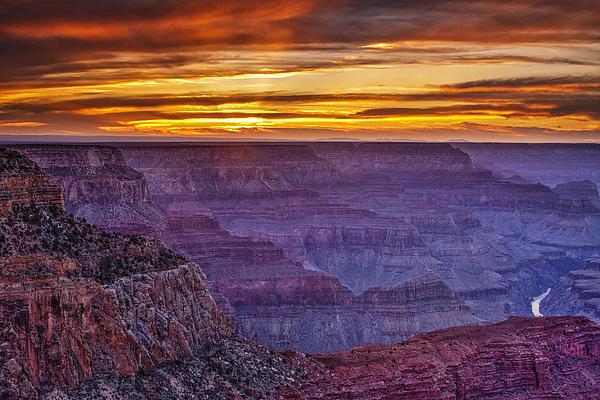 Andrew Soundarajan - Sunset at Grand Canyon