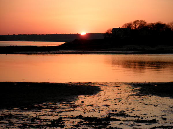 Kate Gallagher - Sunset At Low Tide