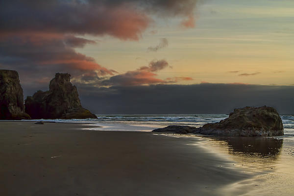Lindley Johnson - Sunset Drama in Bandon Oregon