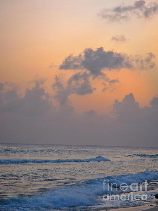 Sunset In The Tropics Print by John Malone