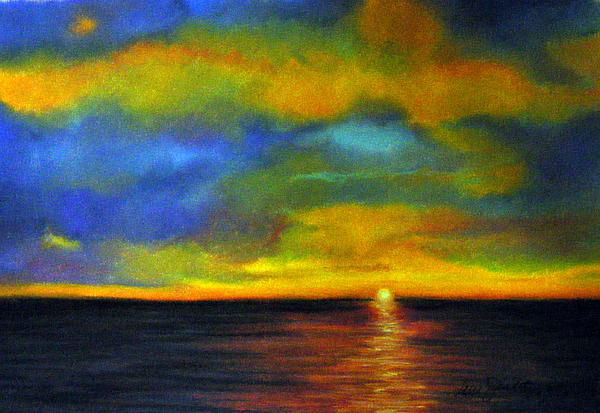 Sunset Print by Lenore Gaudet