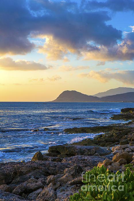 Diane Diederich - Sunset on Oahu Hawaii