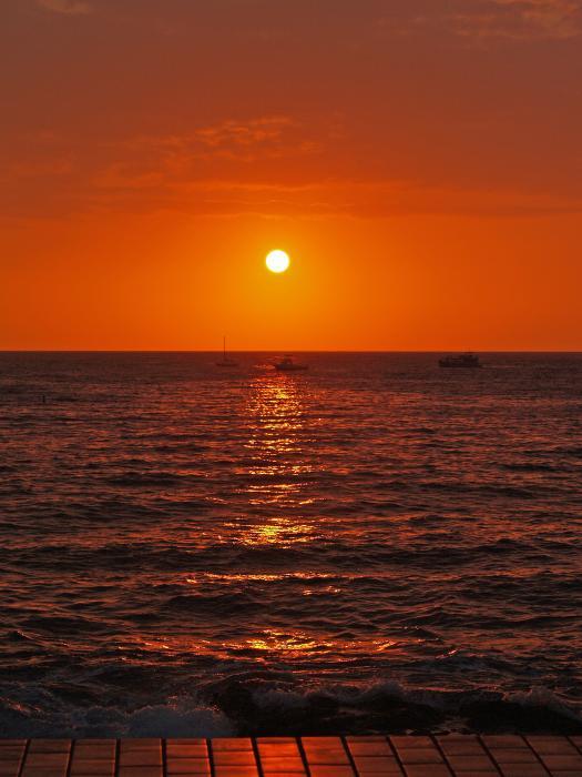 Athala Carole Bruckner - Sunset On The Boardwalk