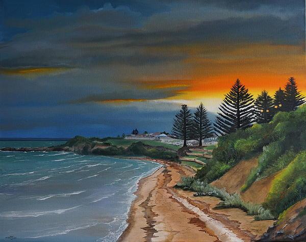 Merrin Jeff - Sunset on the Pines