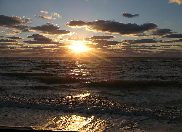 Christiane Schulze Art And Photography - Sunset On Venice Beach