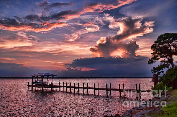 Photos By  Cassandra - Sunset over Pier horizontal